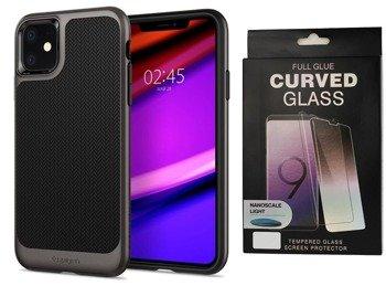 SPIGEN NEO HYBRID IPHONE 11 GUNMETAL +szkło 5D UV