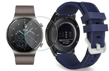 TECH-PROTECT SOFT opaska pasek bransoleta BAND Huawei Watch GT 2 PRO 46mm MIDNIGHT BLUE +szkło