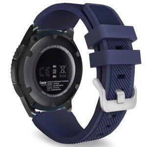 opaska pasek bransoleta (22mm) SOFTBAND Huawei Watch GT / GT2 / GT 2E 46mm MIDNIGHT BLUE