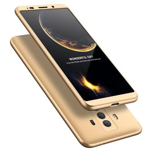 360 Protection etui na całą obudowę przód + tył Huawei Mate 10 Pro złoty