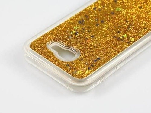 BROKAT TPU Samsung Galaxy A50 srebrny