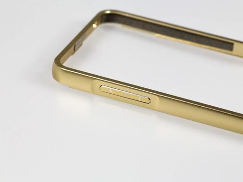 BUMPER MIRROR Samsung Galaxy S7 złoty