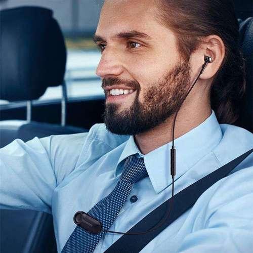 Baseus Encok A06 zestaw słuchawkowy bezprzewodowa samochodowa słuchawka Bluetooth 5.0 czarny (NGA06-01)