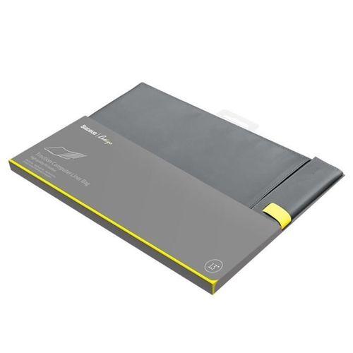 Baseus Let's go eleganckie torba pokrowiec etui na laptopa MacBook 13'' szary (LBQY-AGY)