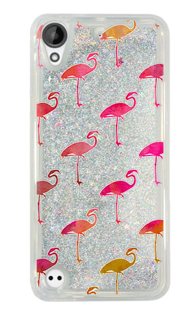 Brokat Case HTC Desire 530 flamingi