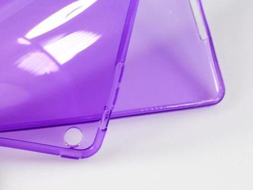CLEAR iPad AIR 2 fioletowy