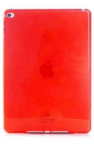 CLEAR iPad MINI 4 czerwony