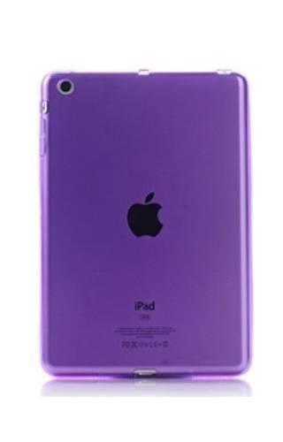 CLEAR iPad MINI fioletowy