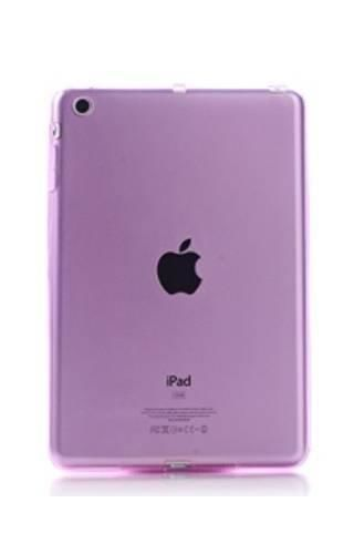 CLEAR iPad MINI różowy