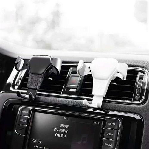 Car Holder H01 uchwyt samochodowy grawitacyjny na kratkę wentylacyjną nawiew biały
