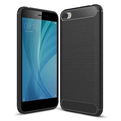 Carbon Case elastyczne etui pokrowiec Xiaomi Redmi Note 5A czarny