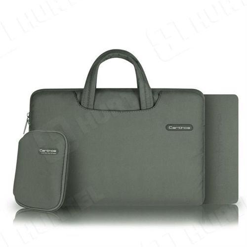 Cartinoe torba na laptopa Ambilight Series 13,3 cala szara