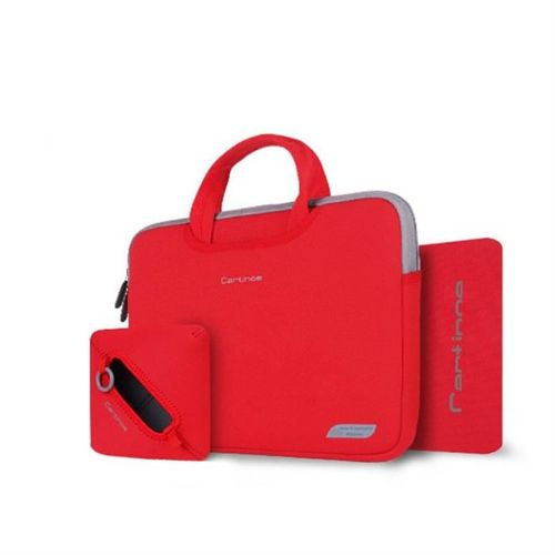Cartinoe torba na laptopa Breath Series 13,3 cala czerwona