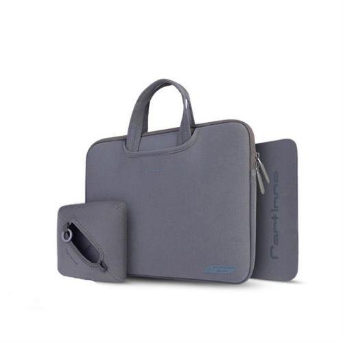 Cartinoe torba na laptopa Breath Series 13,3 cala szara