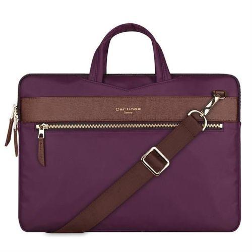 Cartinoe torba na laptopa London Style Series 13,3 cala fioletowa