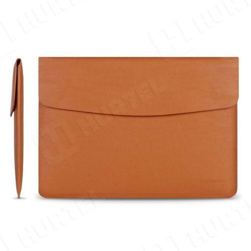Cartinoe torba na laptopa Luxury Series 13,3 cala brązowa jasna
