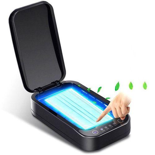 Certyfikowany Sterylizator UV A01 na USB Pudełko dezynfekujące do telefonu, biżuterii, maski Ultrafiolet urządzenie domowe CE Certyfikat czarny