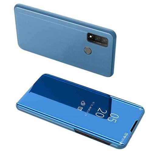 Clear View Case futerał etui z klapką Huawei P Smart 2020 niebieski