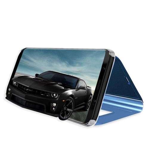 Clear View Case futerał etui z klapką LG K50S czarny