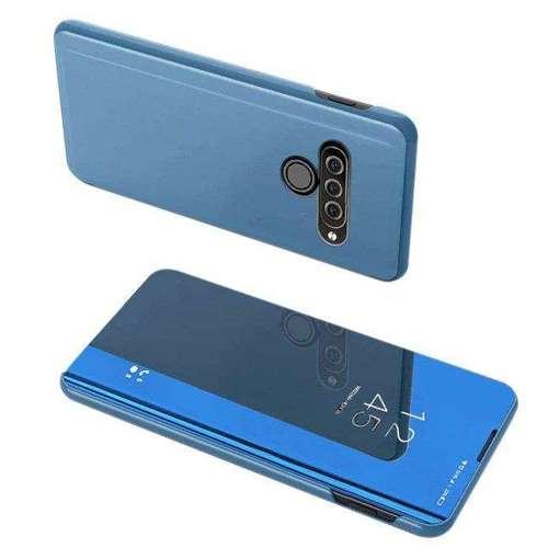 Clear View Case futerał etui z klapką LG K50S niebieski
