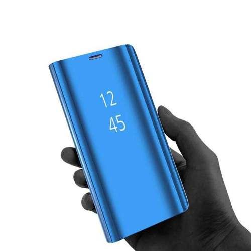 Clear View Case futerał etui z klapką Samsung Galaxy S20 Plus różowy
