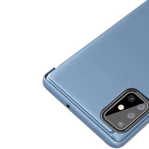 Clear View Case futerał etui z klapką Samsung Galaxy S20 Ultra różowy