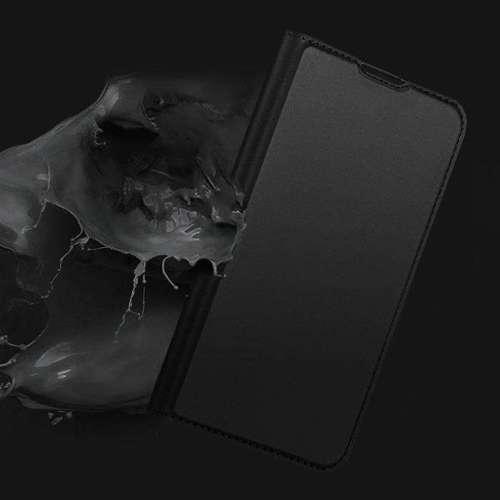 DUX DUCIS Skin Pro kabura etui pokrowiec z klapką Motorola G8 Plus czarny