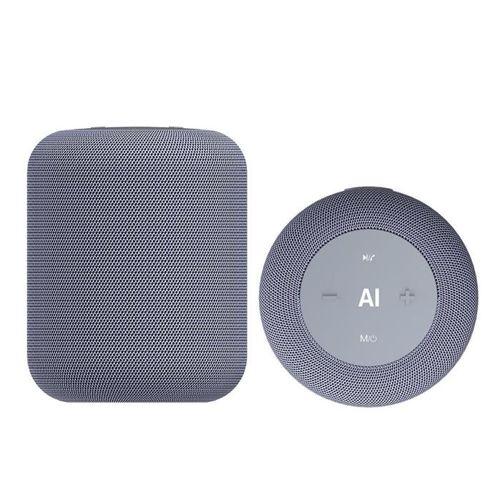 Dudao bezprzewodowy głośnik Bluetooth 5.0 AUX / czytnik kart micro SD / radio FM zestaw głośnomówiący szary (Y8 grey)