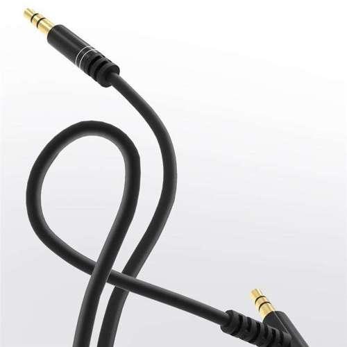 Dudao kątowy kabel przewód AUX mini jack 3.5mm 1m biały (L11 white)