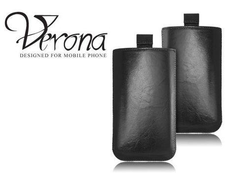 ETUI VERONA FERRO BLACK IPHONE 4