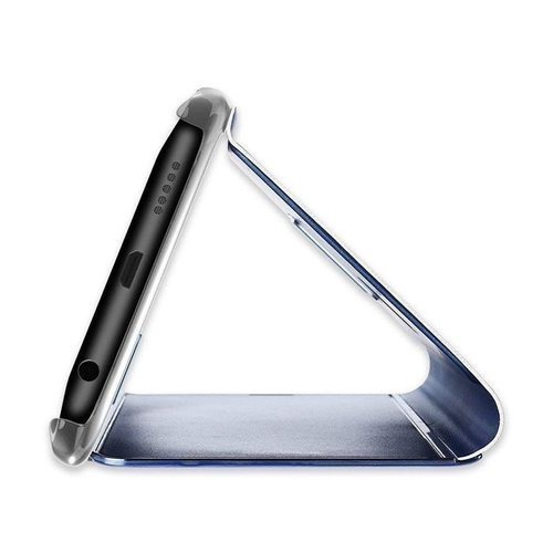 Etui Clear View Cover SAMSUNG S10+ srebrne