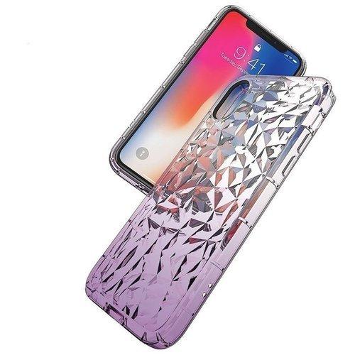 Etui Diamond Ombre HUAWEI P SMART 2019 fioletowe