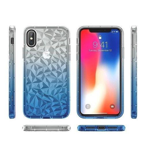Etui Diamond Ombre HUAWEI Y5 2018 niebieskie