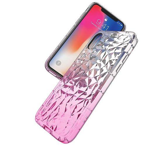 Etui Diamond Ombre IPHONE 6 różowe