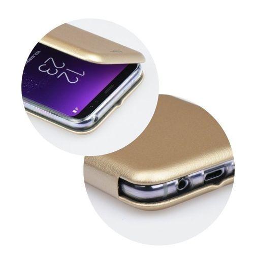 Etui Flip Elegance HUAWEI MATE 20 LITE złote Magnetyczne