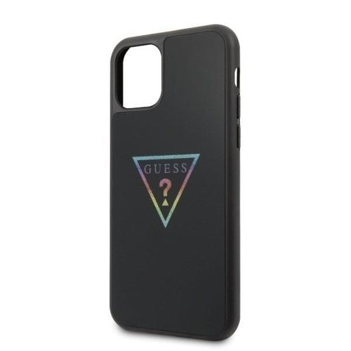 Etui Guess GUHCN58TRMLBK iPhone 11 Pro czarny/black hard case Triangle Glitter