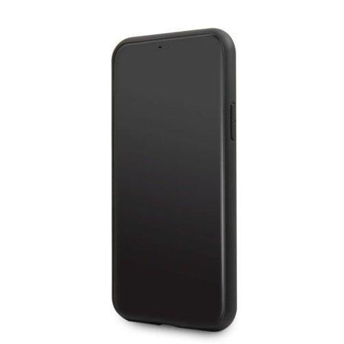 Etui Guess GUHCN61TRMLBK iPhone 11 czarny/black hard case Triangle Glitter