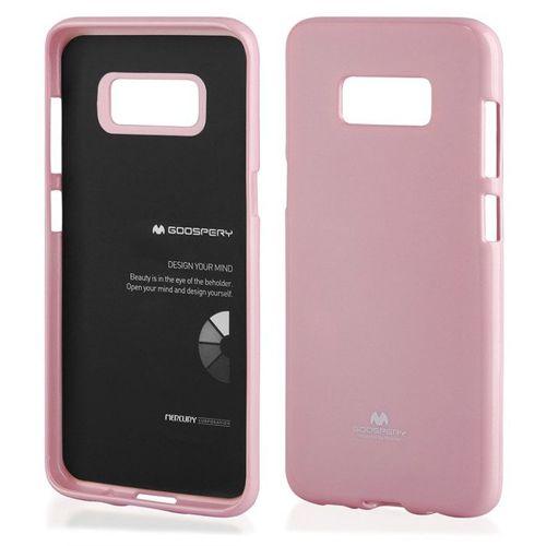 Etui Jelly Case Mercury SAMSUNG G950 S8 jasny róż