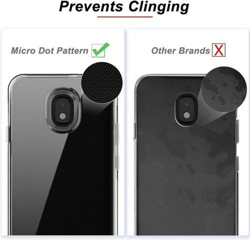 Etui LG K30 2019 Reverse Reck transparentne