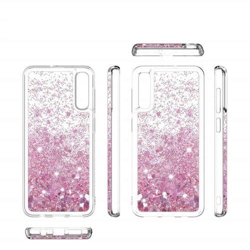 Etui Liquid LG K40 różowe