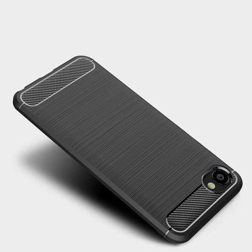 Etui Pancerne KARBON HTC DESIRE 12 czarny