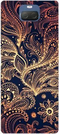 Etui ROAR JELLY art deco złote na Sony Xperia 10