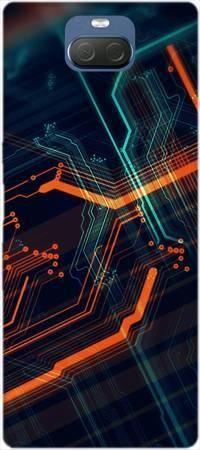Etui ROAR JELLY pomarańczowe łącza na Sony Xperia 10