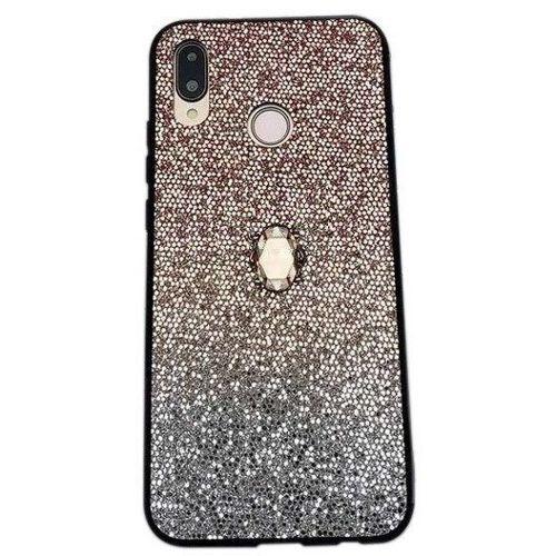 Etui SAMSUNG GALAXY A40 Stone Glitter złote