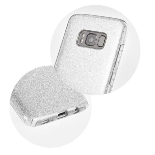 Etui SHINING Motorola MOTO G9 Play / E7 PLUS srebrny