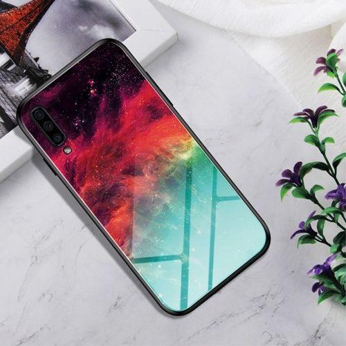 Etui Samsung Galaxy A70 Szklane Glass case Gradient Color nebula