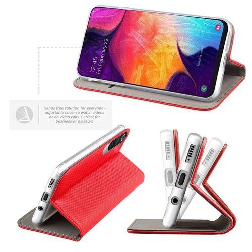 Etui Samsung Galaxy A71 portfel z klapką Flip Magnet czerwone