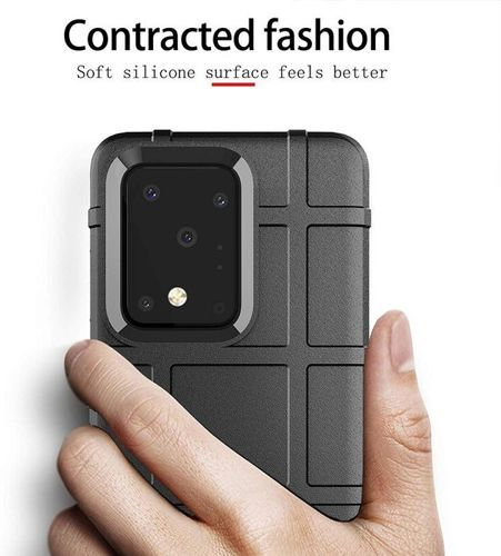 Etui Samsung Galaxy S20 Ultra Pancerne Rugged Square czarne
