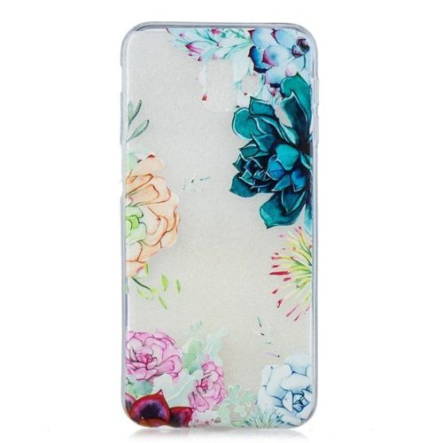 Etui Slim Art SAMSUNG J6+ J6 PLUS kwiaty