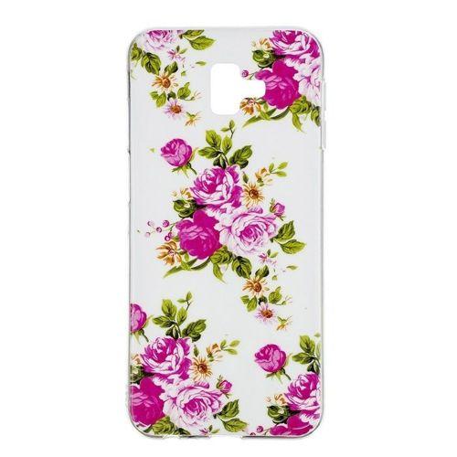 Etui Slim Art SAMSUNG J6+ J6 PLUS żywy kwiat